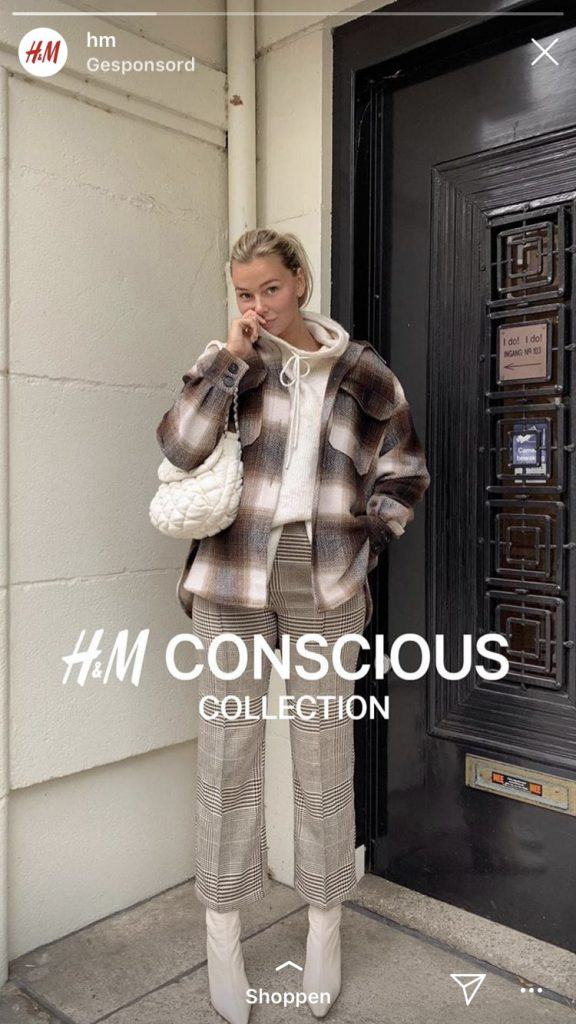 instagramstories inspiratie H&M