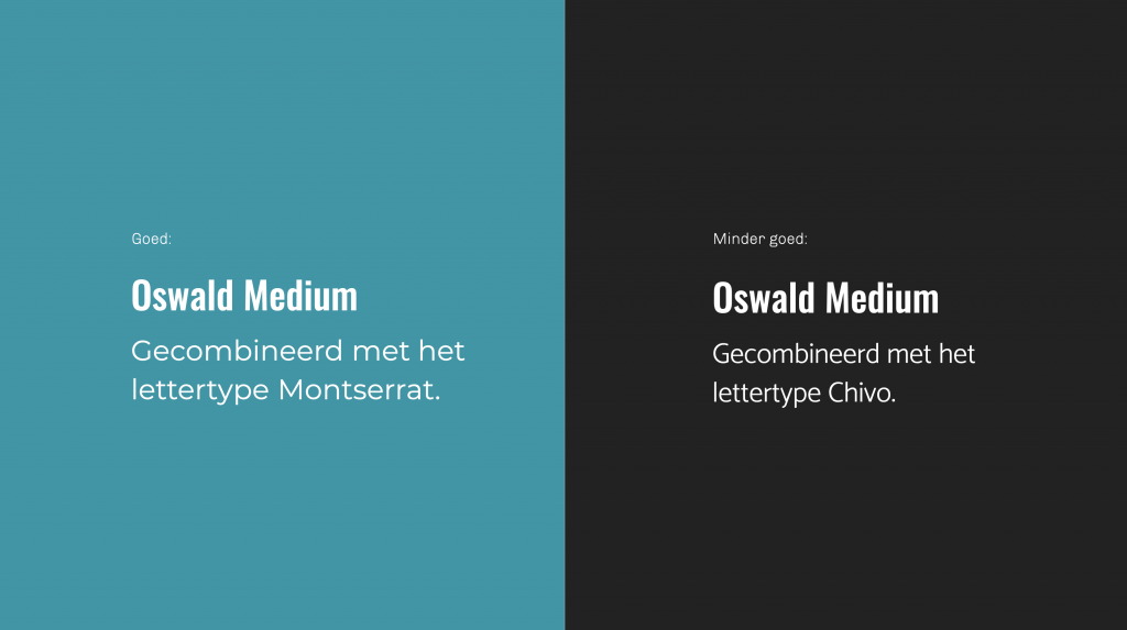 font pairing: lettertypen die goed bij elkaar passen