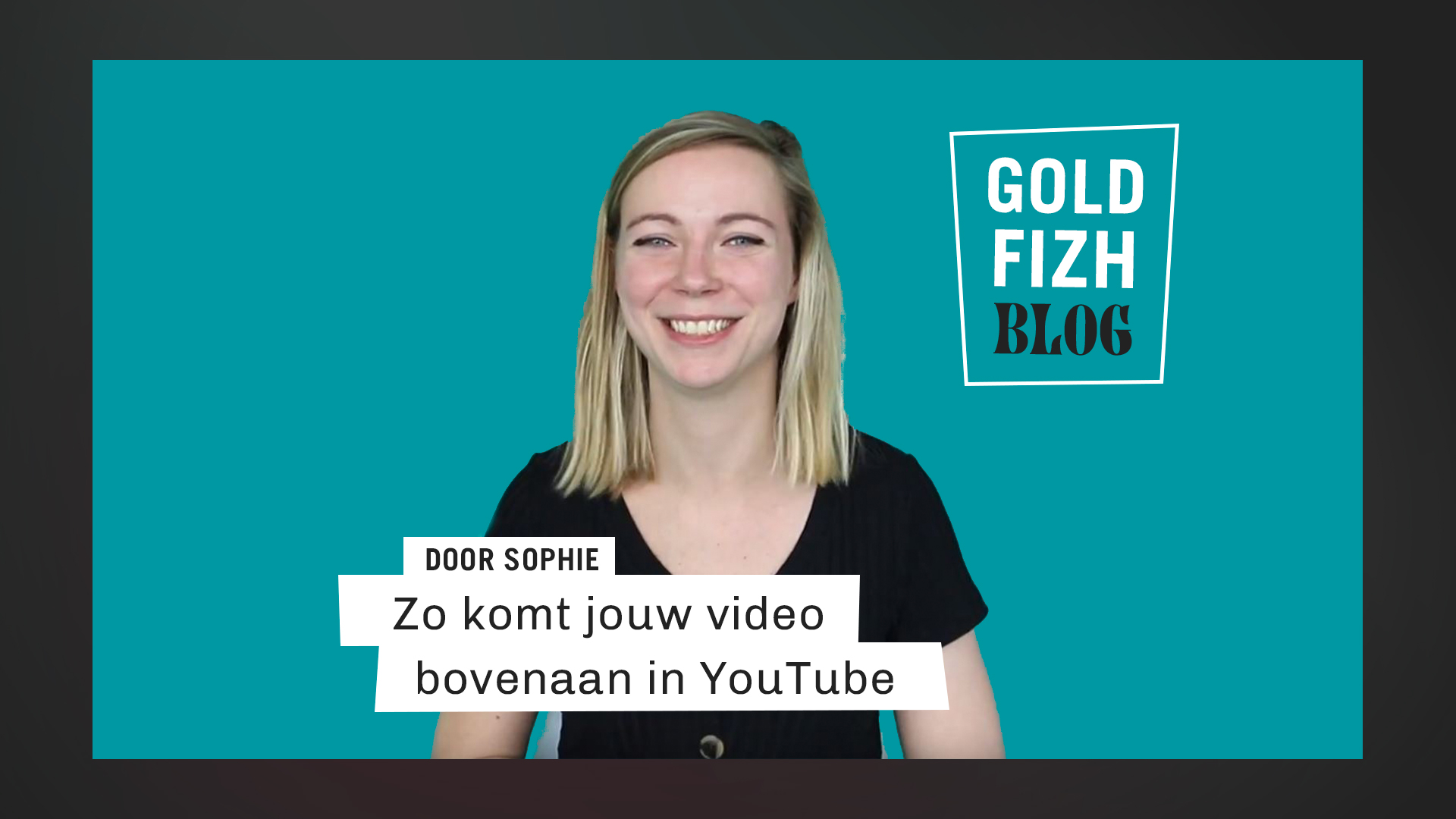 YouTube SEO door Sophie