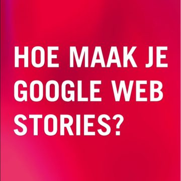 Google Web Stories maken